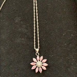 Cookie Lee Delicate Daisy Necklace